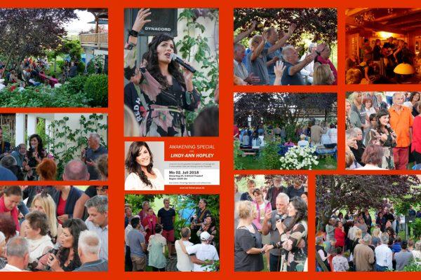 Awakening Special mit Lina-Ann Hopley am 2. Juli 2018 in Frasdorf