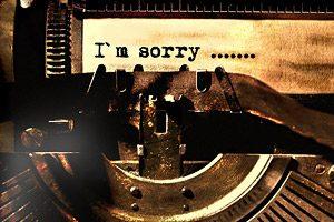 I´m sorry
