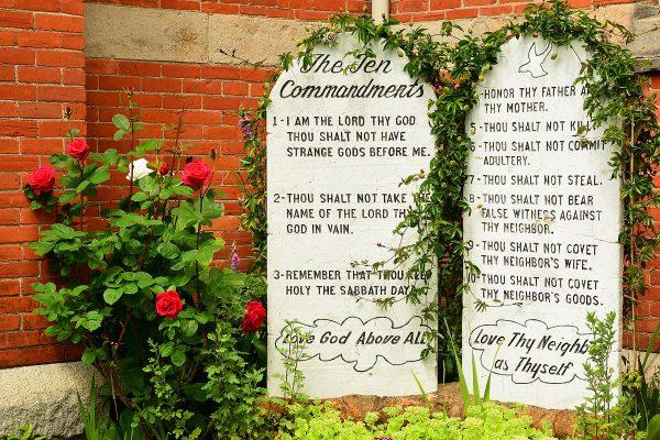 Die Zehn Gebote - Steintafeln
