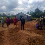 Bau des Hauses für die Gemeinde in Kenia