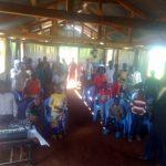 Gottesdienst in Emilys Gemeinde in Kenia