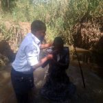 Taufe in Emilys Gemeinde in Kenia