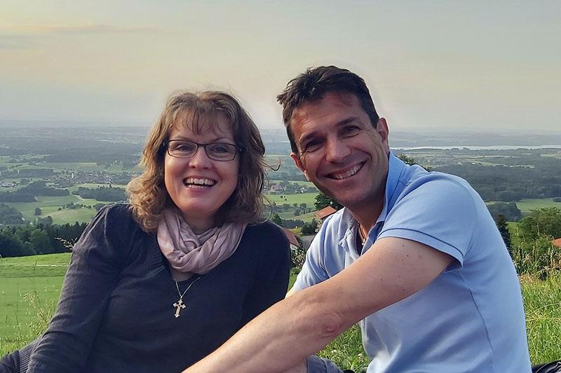 Benoit und Margit Fauchon