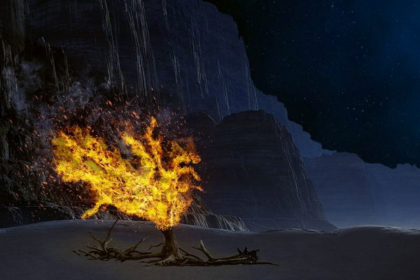 Erweckung und ein brennender Geist